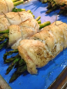 Chicken Wrapped Asparagus