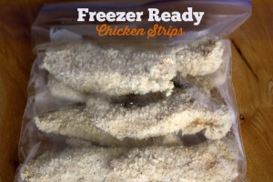 Freezer Ready Chicken Strips