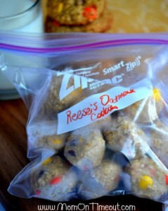 Reese's Oatmeal Cookies